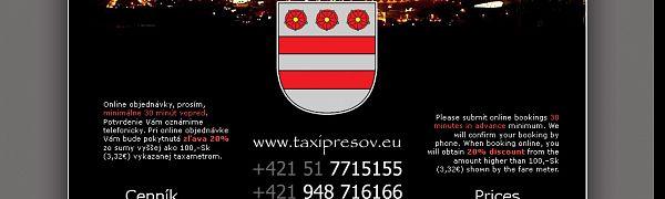 O1 Taxi Prešov
